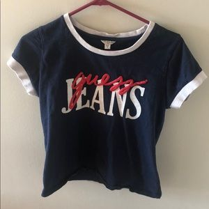 Guess Jeans Semi-Cropped Tee 💕 MEDIUM